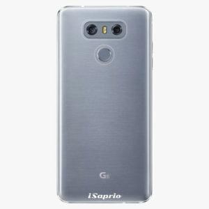 Plastový kryt iSaprio - 4Pure - průhledný matný - LG G6 (H870)