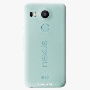 Plastový kryt iSaprio - 4Pure - průhledný matný - LG Nexus 5X