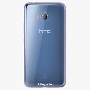 Plastový kryt iSaprio - 4Pure - průhledný matný - HTC U11