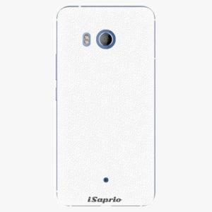 Plastový kryt iSaprio - 4Pure - bílý - HTC U11