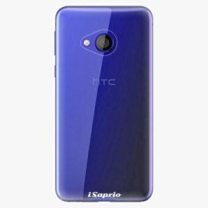 Plastový kryt iSaprio - 4Pure - průhledný matný - HTC U Play