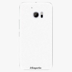 Plastový kryt iSaprio - 4Pure - bílý - HTC 10