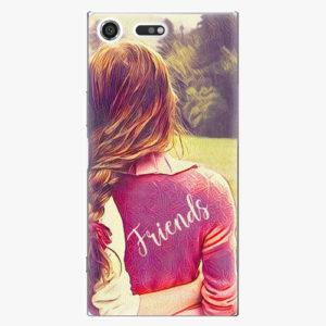 Plastový kryt iSaprio - BF Friends - Sony Xperia XZ Premium