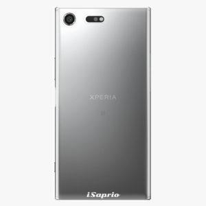 Plastový kryt iSaprio - 4Pure - průhledný matný - Sony Xperia XZ Premium