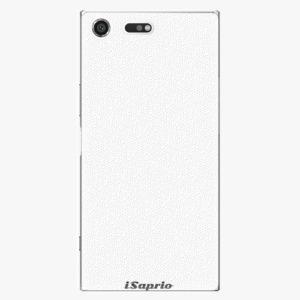 Plastový kryt iSaprio - 4Pure - bílý - Sony Xperia XZ Premium