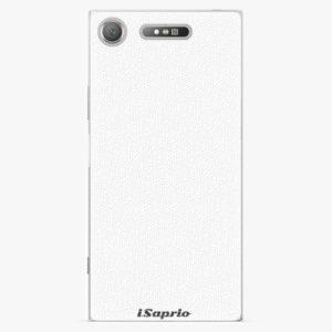 Plastový kryt iSaprio - 4Pure - bílý - Sony Xperia XZ1