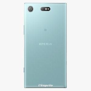 Plastový kryt iSaprio - 4Pure - průhledný matný - Sony Xperia XZ1 Compact