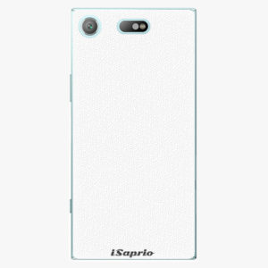 Plastový kryt iSaprio - 4Pure - bílý - Sony Xperia XZ1 Compact