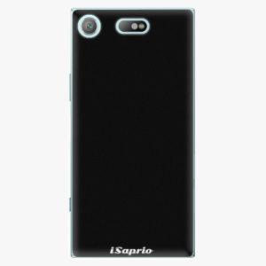 Plastový kryt iSaprio - 4Pure - černý - Sony Xperia XZ1 Compact