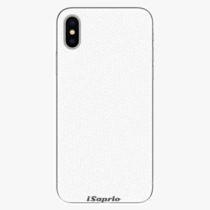 Plastový kryt iSaprio - 4Pure - bílý - iPhone X