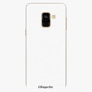 Plastový kryt iSaprio - 4Pure - bílý - Samsung Galaxy A8 2018