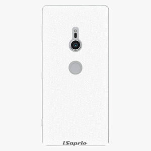 Plastový kryt iSaprio - 4Pure - bílý - Sony Xperia XZ2