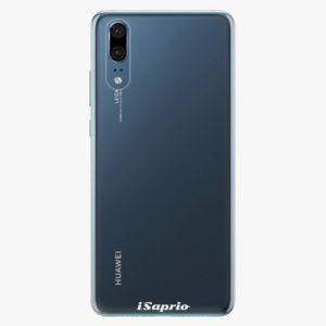 Plastový kryt iSaprio - 4Pure - průhledný matný - Huawei P20
