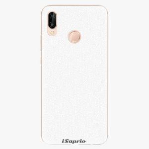 Plastový kryt iSaprio - 4Pure - bílý - Huawei P20 Lite