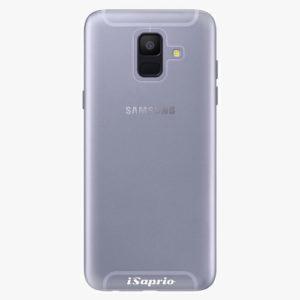 Plastový kryt iSaprio - 4Pure - průhledný matný - Samsung Galaxy A6