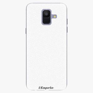Plastový kryt iSaprio - 4Pure - bílý - Samsung Galaxy A6