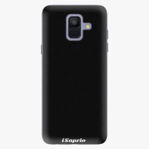 Plastový kryt iSaprio - 4Pure - černý - Samsung Galaxy A6