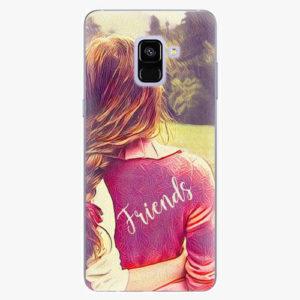 Plastový kryt iSaprio - BF Friends - Samsung Galaxy A8 Plus