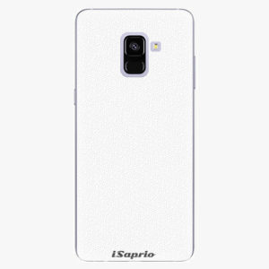 Plastový kryt iSaprio - 4Pure - bílý - Samsung Galaxy A8 Plus