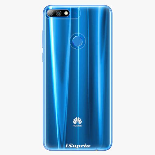 Plastový kryt iSaprio - 4Pure - průhledný matný - Huawei Y7 Prime 2018
