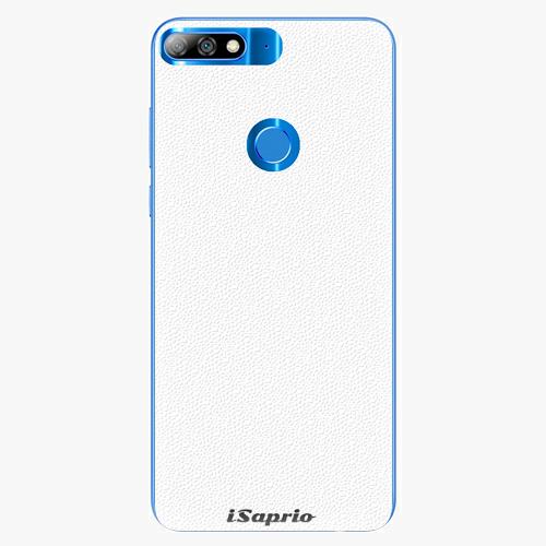 Plastový kryt iSaprio - 4Pure - bílý - Huawei Y7 Prime 2018