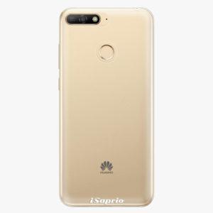 Plastový kryt iSaprio - 4Pure - průhledný matný - Huawei Y6 Prime 2018