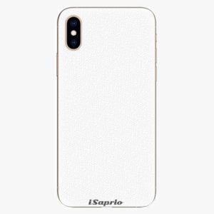 Plastový kryt iSaprio - 4Pure - bílý - iPhone XS