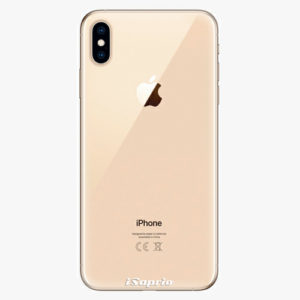 Plastový kryt iSaprio - 4Pure - průhledný matný - iPhone XS Max