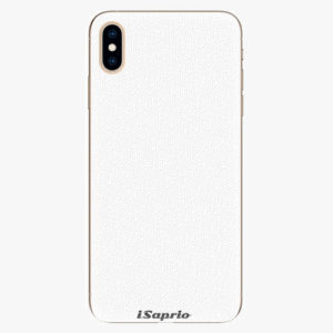 Plastový kryt iSaprio - 4Pure - bílý - iPhone XS Max