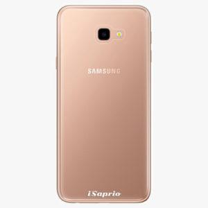 Plastový kryt iSaprio - 4Pure - průhledný matný - Samsung Galaxy J4+