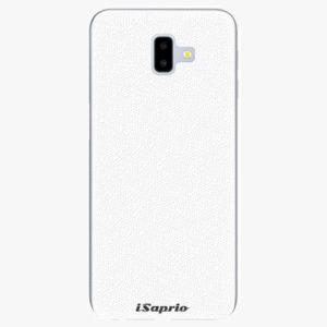 Plastový kryt iSaprio - 4Pure - bílý - Samsung Galaxy J6+