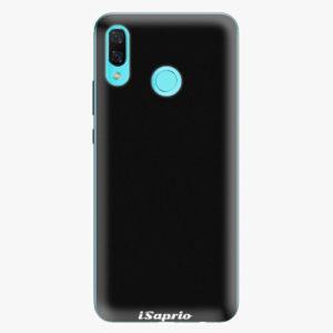 Silikonové pouzdro iSaprio - 4Pure - černý - Huawei Nova 3
