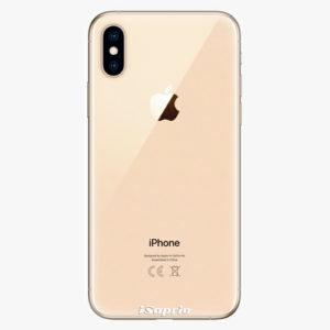 Silikonové pouzdro iSaprio - 4Pure - průhledný matný - iPhone XS