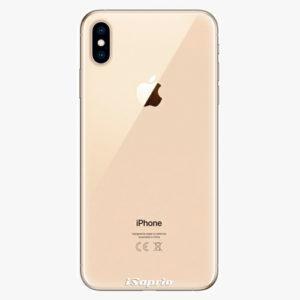 Silikonové pouzdro iSaprio - 4Pure - průhledný matný - iPhone XS Max