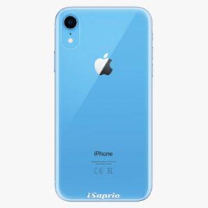 Silikonové pouzdro iSaprio - 4Pure - průhledný matný - iPhone XR
