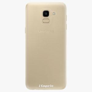 Silikonové pouzdro iSaprio - 4Pure - průhledný matný - Samsung Galaxy J6