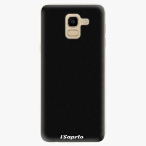 Silikonové pouzdro iSaprio - 4Pure - černý - Samsung Galaxy J6