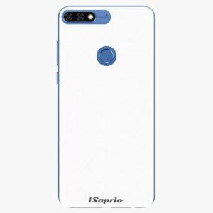 Silikonové pouzdro iSaprio - 4Pure - bílý - Huawei Honor 7C