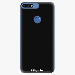 Silikonové pouzdro iSaprio - 4Pure - černý - Huawei Honor 7C