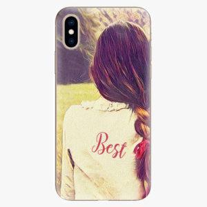 Silikonové pouzdro iSaprio - BF Best - iPhone XS