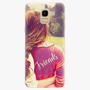 Silikonové pouzdro iSaprio - BF Friends - Samsung Galaxy J6
