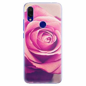 Plastový kryt iSaprio - Pink Rose - Xiaomi Redmi 7