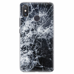 Plastový kryt iSaprio - Cracked - Xiaomi Mi Max 3
