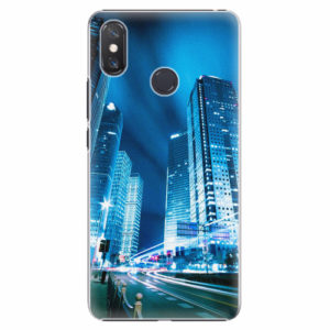 Plastový kryt iSaprio - Night City Blue - Xiaomi Mi Max 3