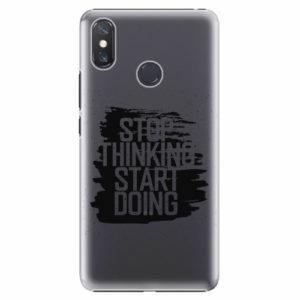 Plastový kryt iSaprio - Start Doing - black - Xiaomi Mi Max 3