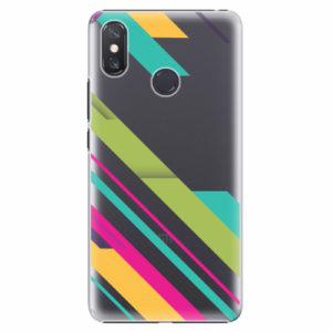 Plastový kryt iSaprio - Color Stripes 03 - Xiaomi Mi Max 3