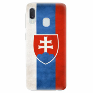 Plastový kryt iSaprio - Slovakia Flag - Samsung Galaxy A20e