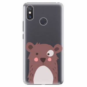 Plastový kryt iSaprio - Brown Bear - Xiaomi Mi Max 3