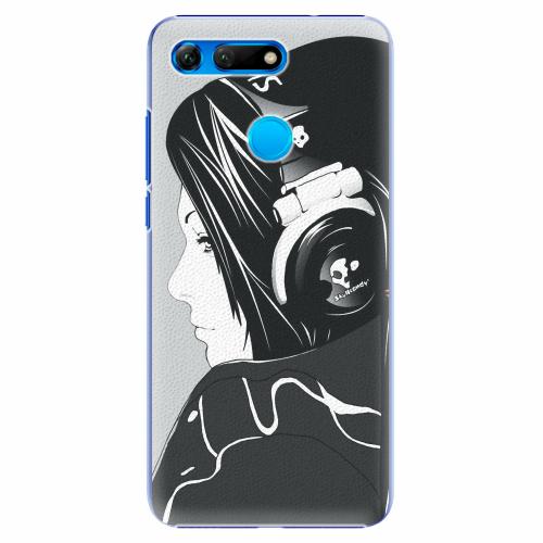 Plastový kryt iSaprio - Headphones - Huawei Honor View 20