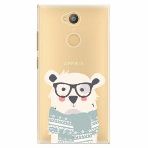 Plastový kryt iSaprio - Bear with Scarf - Sony Xperia L2
